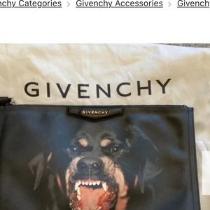 Givenchy Rottweiler Collection Clutch